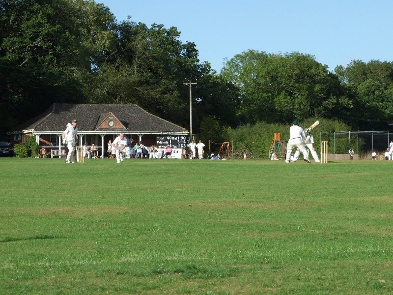 Cricket on the king George's Field
